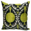 Rugs-USA-Ikat-Velvet-Silk-and-Cotton-Decorative-Pillow-Gold